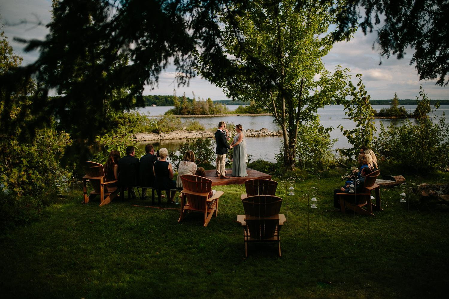 kerry ford photography - small intimate backyard rideau lake island wedding perth ontario-053.jpg