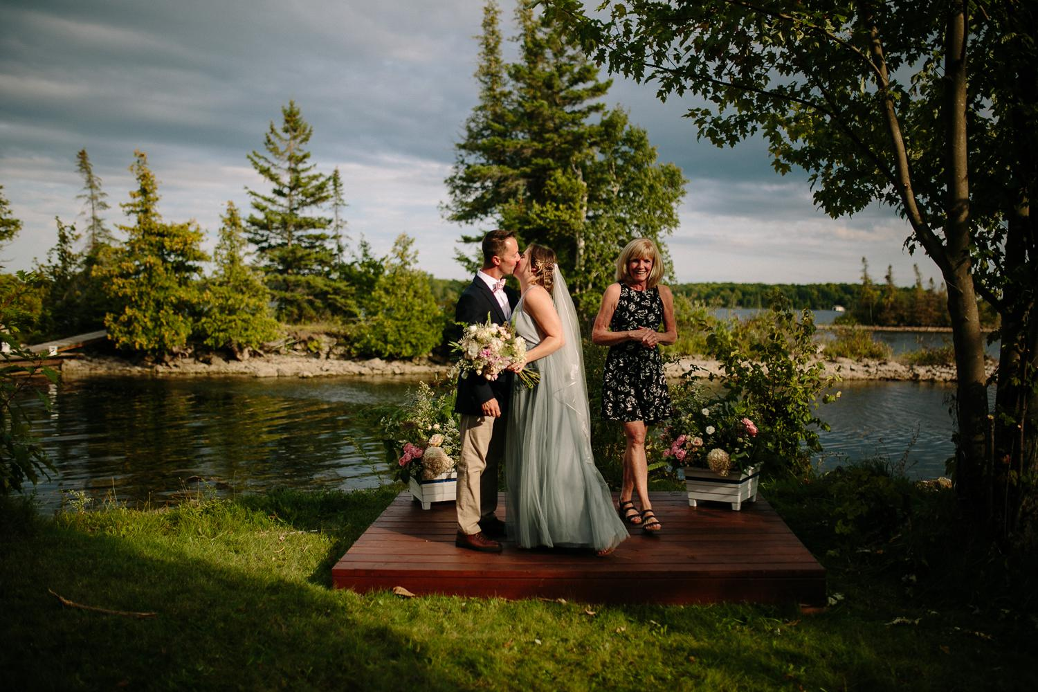 kerry ford photography - small intimate backyard rideau lake island wedding perth ontario-063.jpg